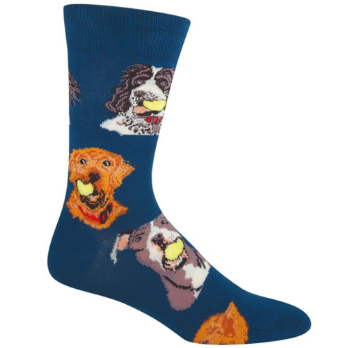 SOCKSMITH - BALL DOG ANTIQUE BLUE