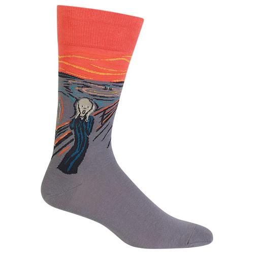 HotSox - The Scream - Orange
