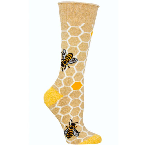 SOCKSMITH - HONEY BEE LG/XL 1