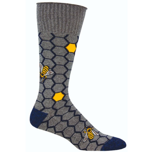 SOCKSMITH - HONEY BEE GRY 1