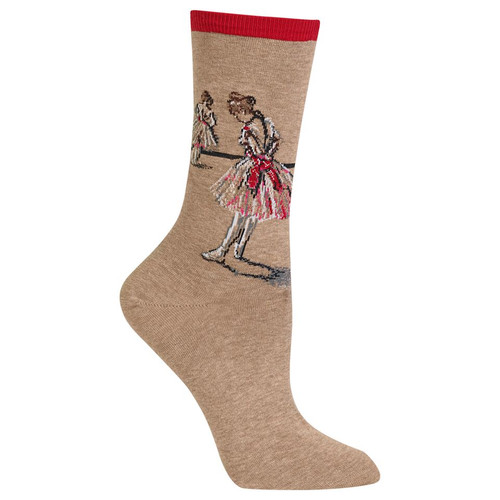 HotSox - Degas Study Dancer  - Red