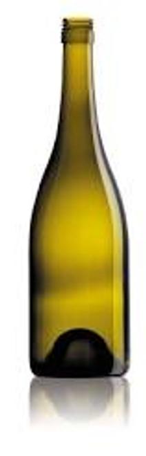 Green Burgundy Wine Bottles/case 12