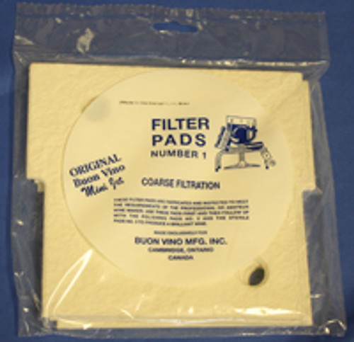Buon Vino Filter Mini Pad #1 5u