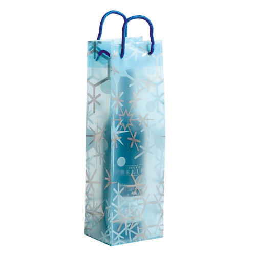 Sheer snowflake bags