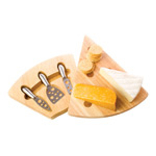 Cheese board & knife set