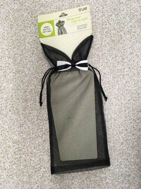 Black Tux wine bag