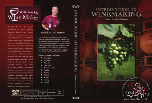 Intro to Winemaking DVD