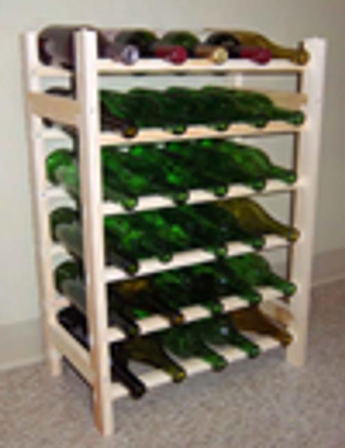 Wine rack 30 bottle