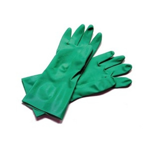 Heat-R rubber glove/MED/each