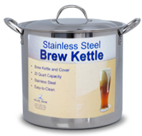 20 Quart Stainless Steel Pot with Lid