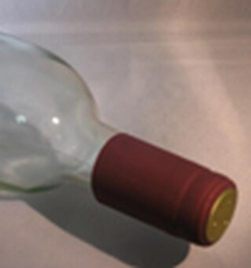 Burgundy Shrink Caps pack/100