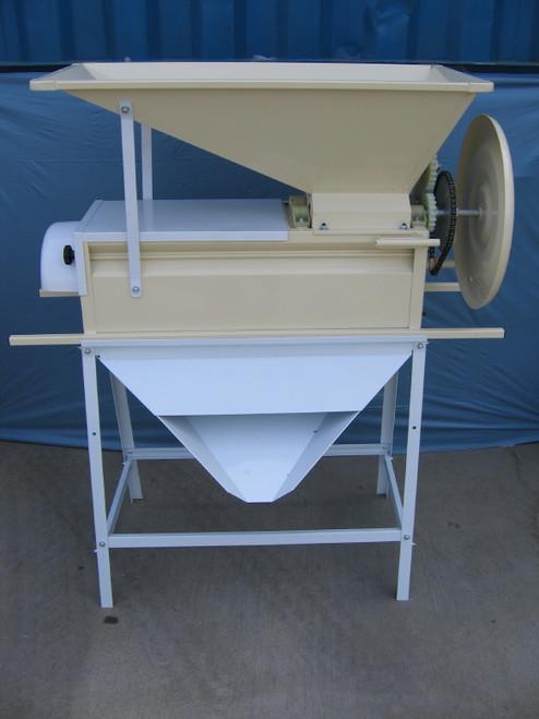 Manual crusher/destemmer - all steel