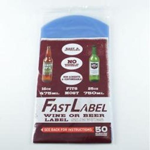 FastLabel Wine Bottle labels pack of 50
