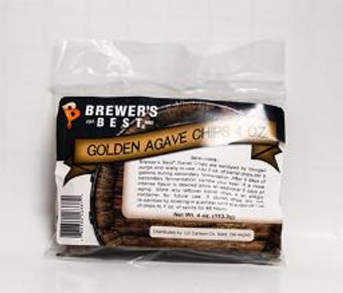 Golden Agave Barrel Wood Chips 4 ounces