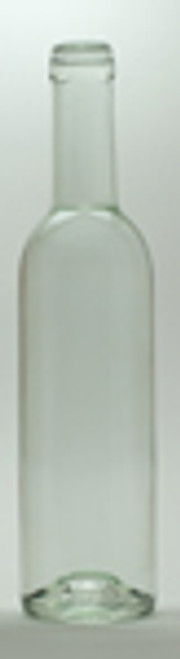 375 ml Clear Bordeaux bottles 12/case