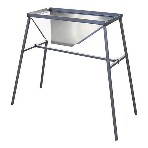 Stand for Crusher/destemmer -- stainless steel