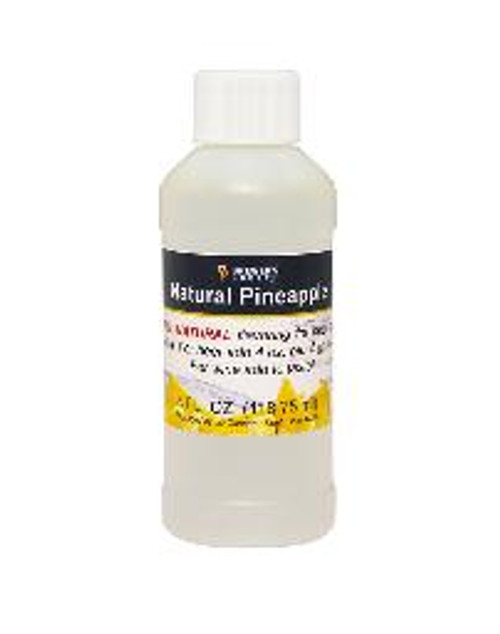 Natural Pineapple flavoring extract, 4 oz