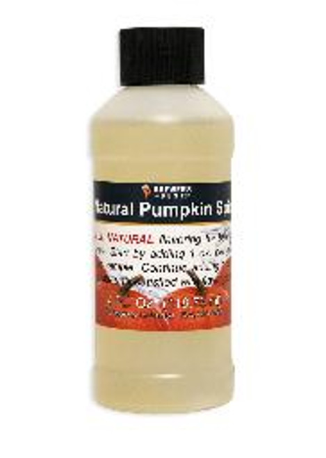 Natural Pumpkin Spice Flavoring Extract 4 oz.