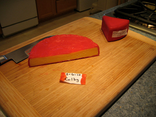 1# Red Cheese Wax