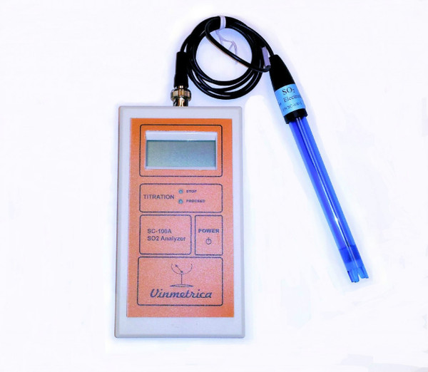 Vinmetrica SC-100 SO2 Analyzer Kit