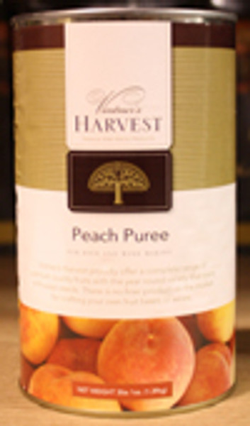 Peach Puree 49 OZ