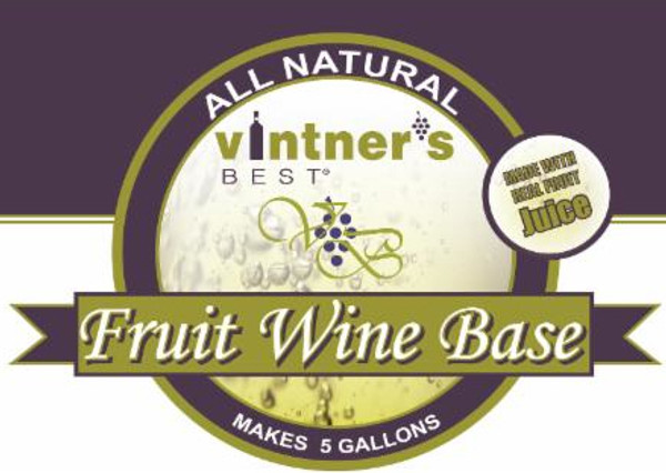 Vintner's Best Rhubarb Fruit Wine Base (1 gallon)
