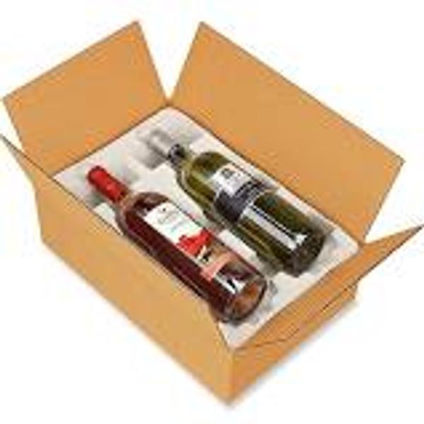 6-bottle shipping box