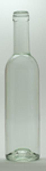375 ml Clear Bordeaux bottles 12/case