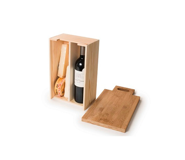 """Say Cheese"" Wine & Cheese gift box"