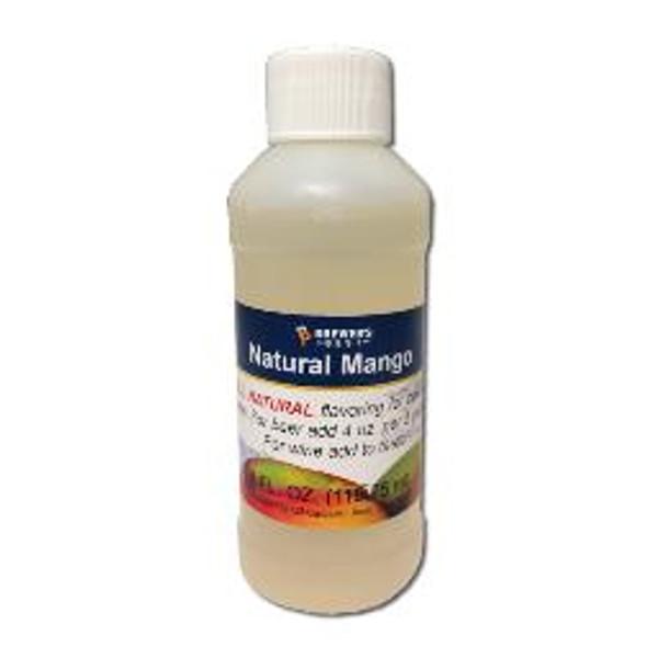Natural Mango flavoring extract, 4 oz