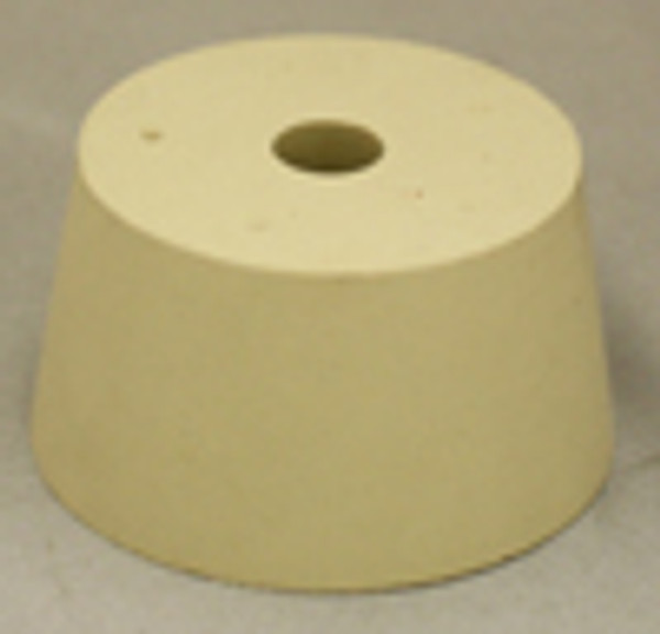 USED Drilled stopper for plastic carboys