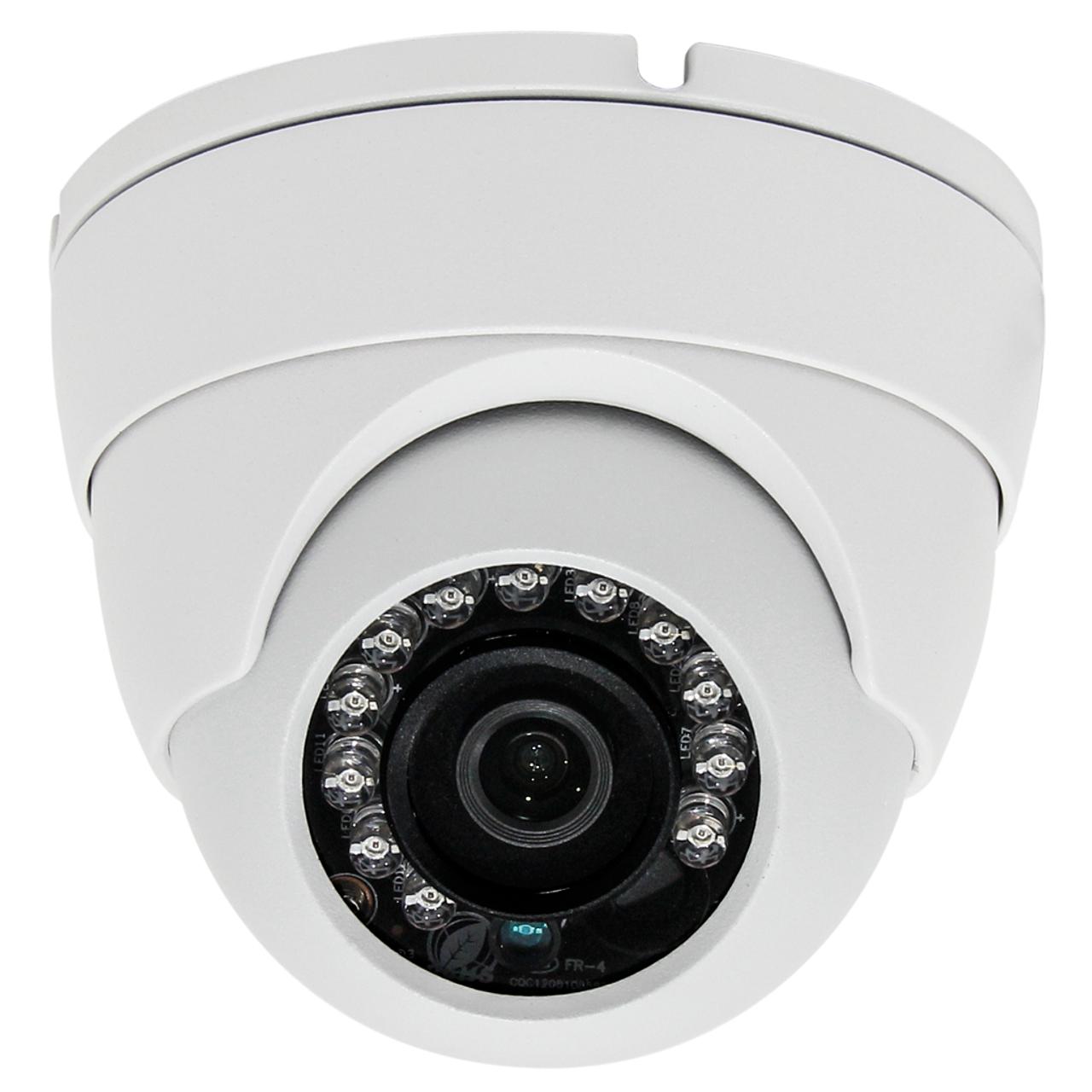 2MP 1080P CCTV Dome Camera HD 4in1 TVI//AHD//CVI//CVBS Wide View Angle Infrared Cam