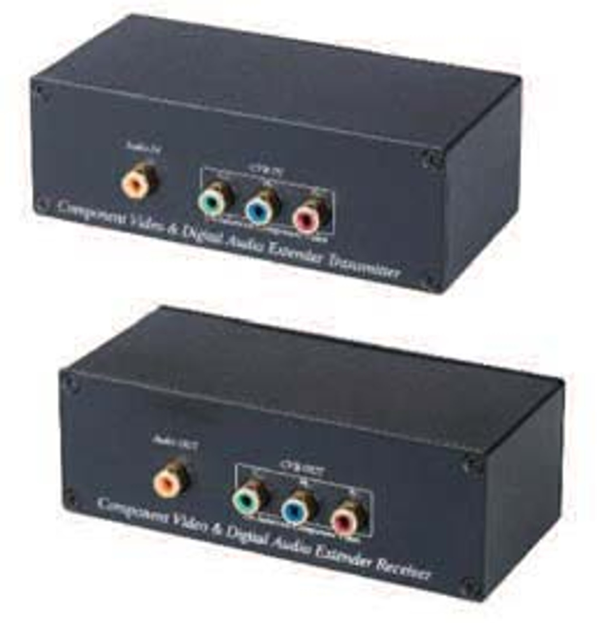 CAT5 Component Video Balun Transformer with Digital Audio Kit