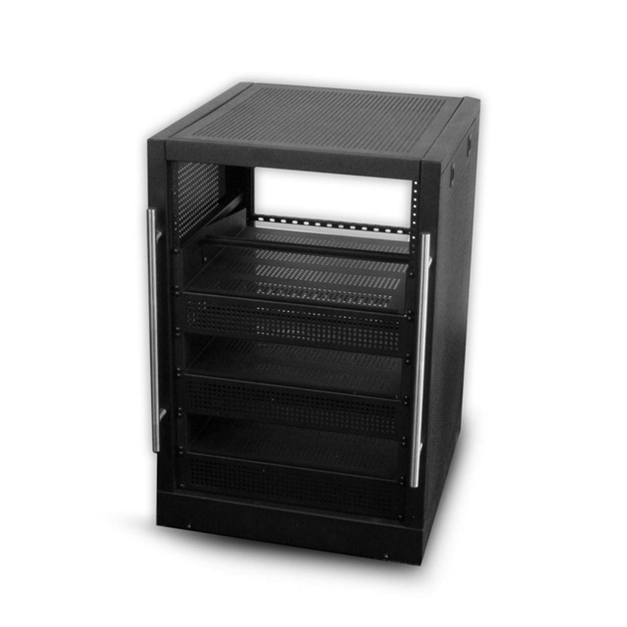 Portable Home Theater Rack 3' 16U with Shelves