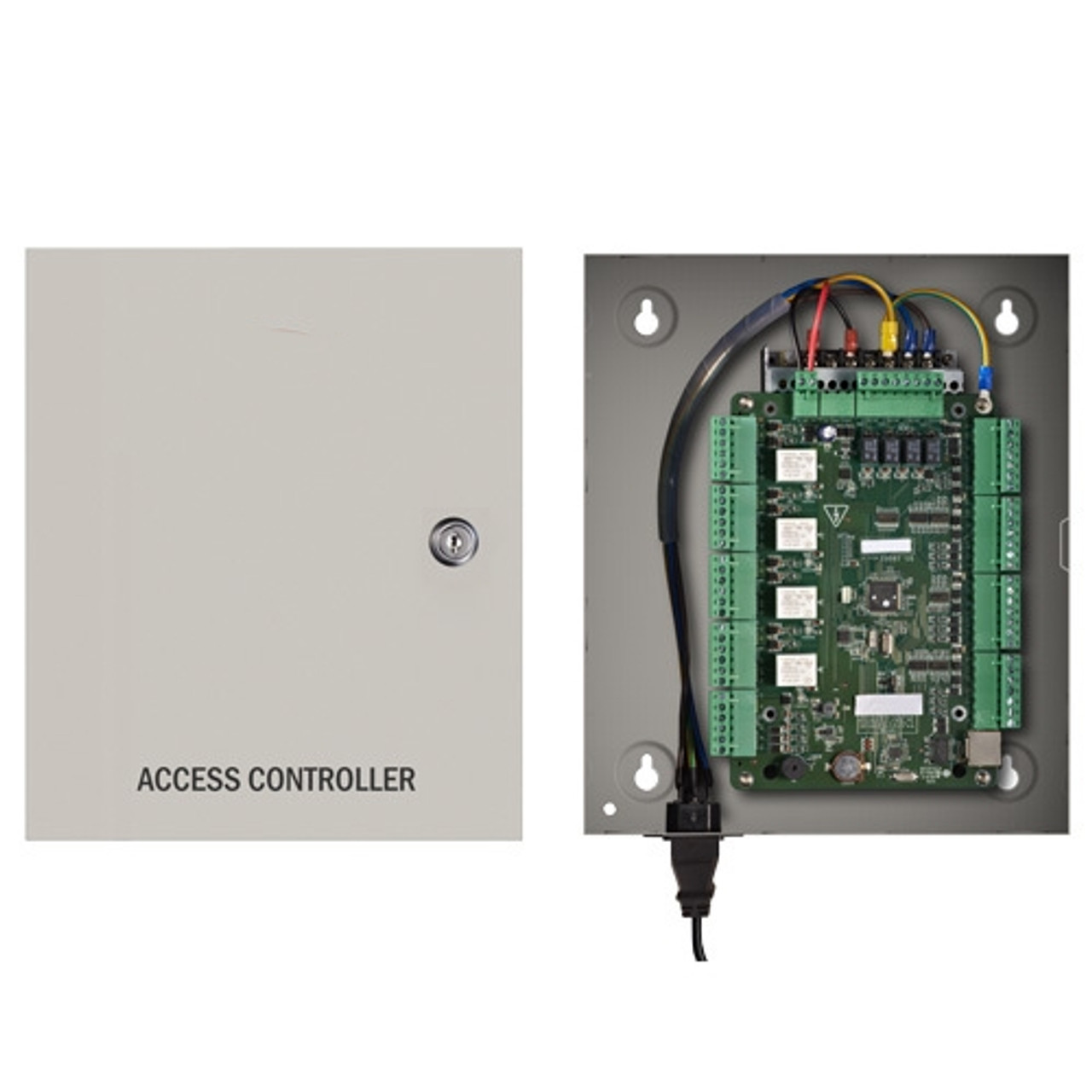 Access Control Entry Door Board Panel Controller for Home// Office TCP IP Network