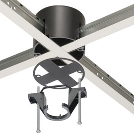 Drop Ceiling Grid Switch Box Mounting Bracket-10 per case