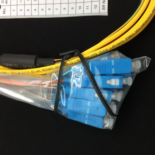 12S SM Micro Fiber Optic Pigtail 3M SC//UPC