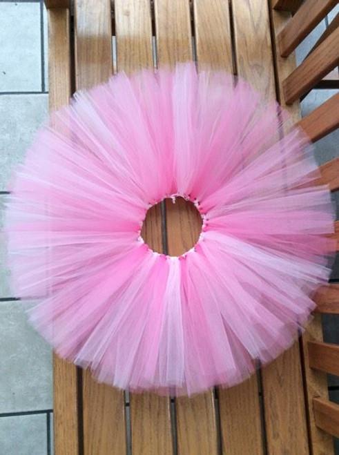Girls Mixed Pinks Soft Pink/Pink/Shocking Pink Tulle Tutu, Birthday Tutu, Pink Tutu, Girls Skirt