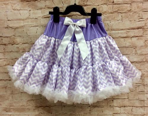 Girl's Chevron Pettiskirt, Petti Skirt, Tutu, Girls Skirt, Vintage skirt, 1950's Skirt, 1960's Skirt