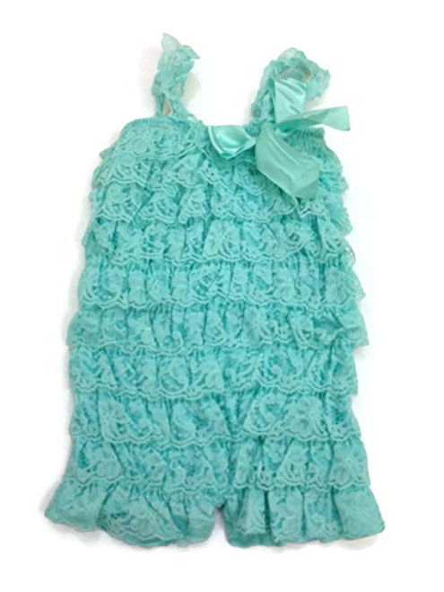Baby Rompers, Lace Rompers, Children's Rompers, Girl's Romper, Lace Petti Rompers, Pettiromper