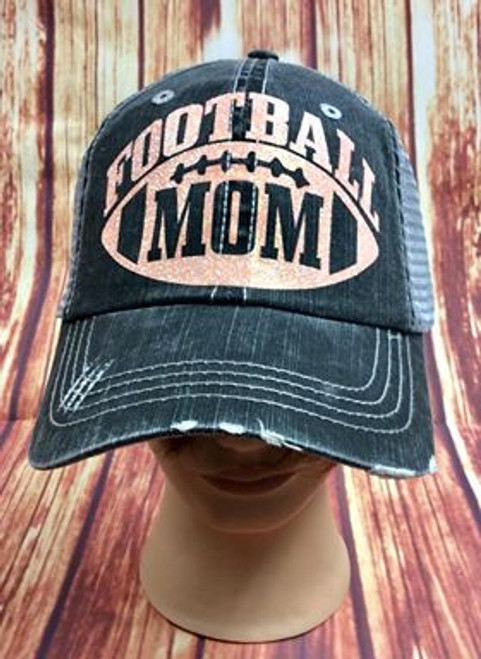 Women's Football Mom Baseball Cap Trucker Hat