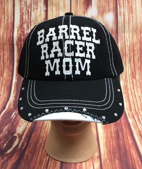 Women's Barrel Racer Mom Baseball Cap
