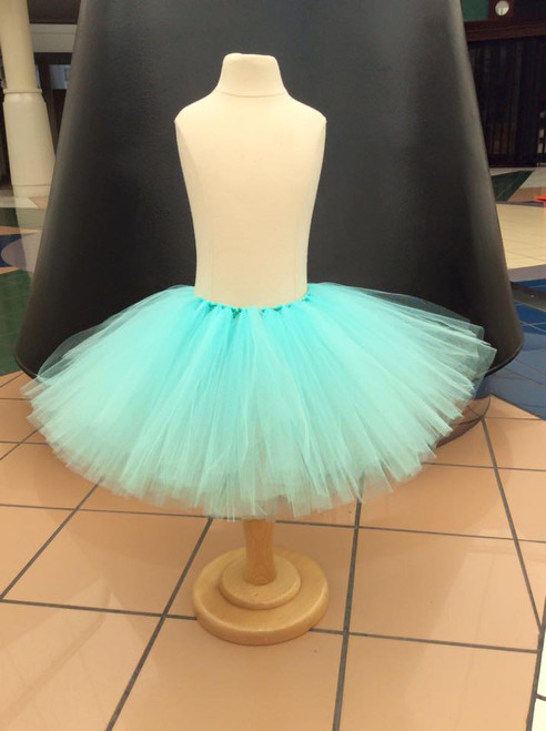 Aqua Tutu, Light Blue Tutu, Baby Tutu, Girl's Tutu, Children's Tutu, Toddler Tutu, Newborn Tutu