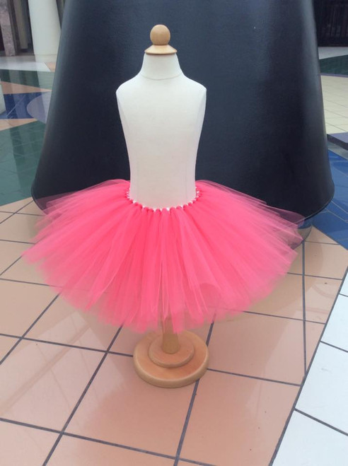 Girl's Coral Tutu, Tutu, Birthday Tutu, Princess Tutu, Ballet Tutu, Girl's Clothing, Toddler Clothing, Baby Clothing, Costume, Newborn Tutu