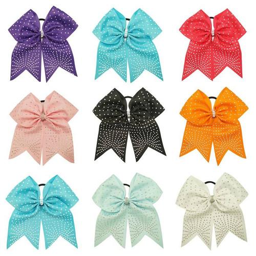 Rhinestone Cheer Bow, Cheer Bow, Cheerleading Bow, Hair Bow, Gymnastics Hair Bow, Hair Accessories, Hair Ribbons