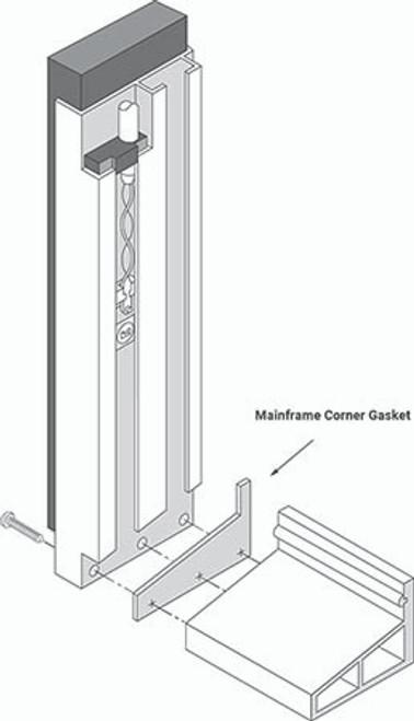 Mainframe Corner Gaskets