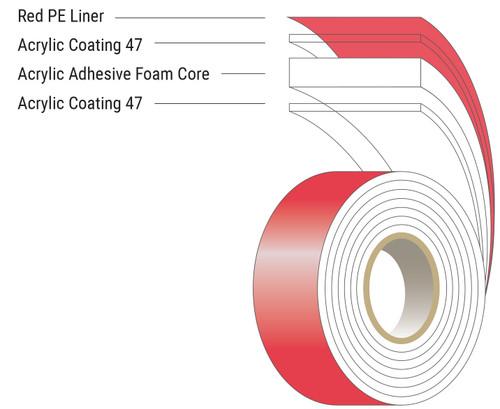 SUP-R-MOUNT AM9430 Automotive Tape