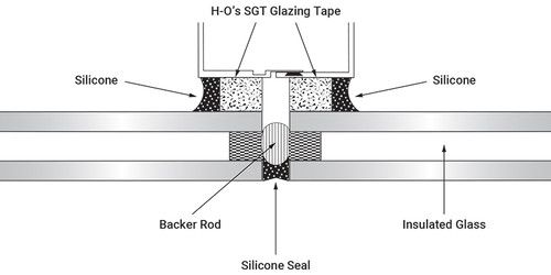 Silicone Structural Glazing Tape (Spacer Tape)