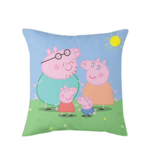 Peppa pig family pillow