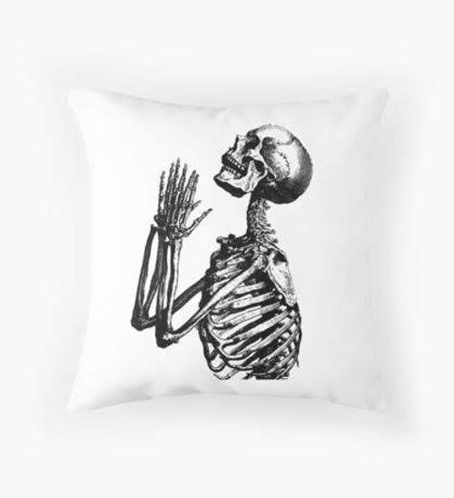 Praying bones pillow